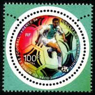 NOUV.-CALEDONIE 1998 - Yv. 755 ** TB  Faciale= 0,84 EUR - Coupe Du Monde De Football En France ..Réf.NCE23368 - New Caledonia