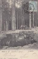 Etival 88 - Précurseur Source La Sapinière - Cachets 1904 Nancy à St-Dié - Etival Clairefontaine