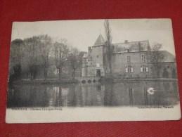 TERNAT -  TERNATH -  Kasteel  Crucquenbourg  -  Château  Crucquenbourg  -   1903  -   ( 2 Scans) - Ternat