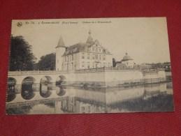 S´ GRAVENWEZEL  -  Kasteel  -  Château De S´ Gravenwezel   -   1920  -   ( 2 Scans) - Schilde