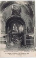 Cpa VASSINCOURT Interieur De L Eglise BATAILLE DE LA MARNE - Sin Clasificación