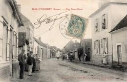 Hallencourt (somme) Rue Saint-denis. - Frankreich