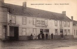 Hallencourt (somme) .hôtel Saint-denis. - Frankreich