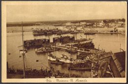 CROATIA  - HRVATSKA  -ISTRIA - POLA - PULA - ARSENAL - SHIPS - 1931 - Croazia