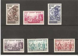 EMIS AU PROFIT DES SINISTRES D'ORLEANVILLE  N° 319 **   à   324 ** - Unused Stamps