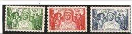 75e ANNIVERSAIRE DE L'U.P.U.  N° 276 **   à   278 ** - Unused Stamps