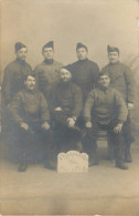 BELFORT - BELLE CARTE PHOTO DE SOLDATS - ORGANISATION DU TIR PLACE DE BELFORT 1907 - Belfort - Stadt
