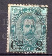 MC 1890  Regno 2c Su 5c  Usato - 1878-00 Umberto I