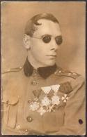SLOVENIA  - LUJO  LOVRIC Oficir 1. Srpske Dobrovolj. Divizije Odesa 1916 -  Slep - Predsednik Slovenskih Dobrovoljc - Slowenien