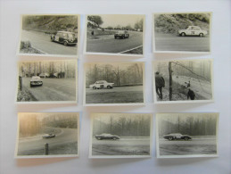 2 lots de photos de la course de c�te de Laroche-Samr�  1968 et 1969