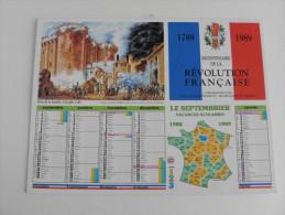 Bicentenaire De La Révolution Française 1789/1989 - Calendriers