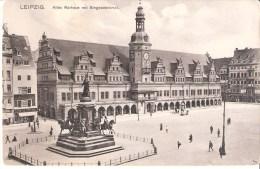 ALLEMAGNE : Leipzig .Altes Rathaus Mit Siegesdenkmal . N'a Pas Voyagé. - Leipzig