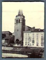 France, Ariège, Saint-Girons  Vintage Citrate Print. Midi Pyrénées Tirage Citr - Photographs