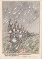 Regen Männlein  Signiert Spruch Vers  Sehr Schönes Motiv - Phantasie