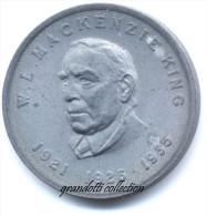OTTAWA CANADA W.L. MACKENZIE KING 1921 - 1926 - 1935 GETTONE MONETALE PERSONAGGI FAMOSI - Noodgeld