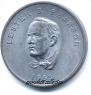 OTTAWA CANADA LESTER B. PEARSON 1963 GETTONE MONETALE PERSONAGGI FAMOSI - Noodgeld