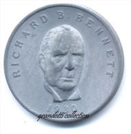OTTAWA CANADA RICHARD B. BENNETT 1930  GETTONE MONETALE PERSONAGGI FAMOSI - Monetari / Di Necessità