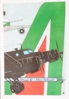 AVIAZIONE CIVILE ALITALIA TORINO ROMA 1947 FIAT G 12 1992 MD 11 - 1946-....: Modern Era