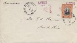 Le 18/04/1927 Port Au Prince Port De Paix, Lettre Aff Haîti N°256 TB - Haiti