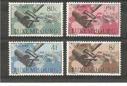 LuxMi.Nr.460-63/  LUXEMBURG - UPU 75 Jahre ** - Luxemburg
