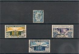 FRANCE  1924 N° Y&T :209-210-213-215 Oblitérés