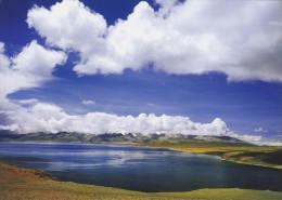 China - View Of Mapham-Yum-Tso Lake, Burang County Of Tibet - Tibet