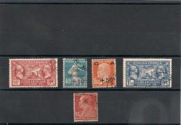 FRANCE  1927 N° Y&T :243/246-248 Oblitérés