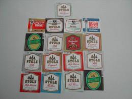 33 Beerlabels Brauerei Stolz / Isny - Bier