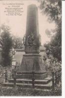PULLIGNY 39 LA LORRAINE ILLUSTREE MONUMENT COMMEMORATIF ELEVE A LA MEMOIRE DES VOLONTAIRES DE PULLIGNY BATAILLON BOURRAS - Monuments Aux Morts