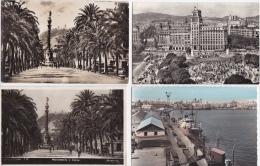 Lot  DE  20   CPSM  ( PHOTOS )  DE  BARCELONA            -  Toutes Scanées - Barcelona