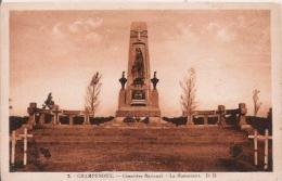 CHAMPENOUX 2 CIMETIERE NATIONAL LE MONUMENT - Monuments Aux Morts