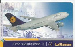Russia     Airplane.  Lufthansa. - Airplanes