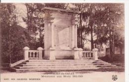 SALIES DU SALAT MONUMENT AUX MORTS 1914.1918 - Monuments Aux Morts