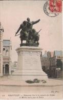 GRANVILLE 221 MONUMENT ELEVE A LA MEMOIRE DES SOLDATS ET MARINS MORTS POUR LA PATRIE - Monuments Aux Morts