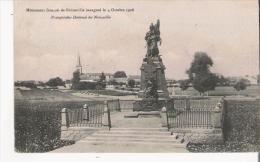 MONUMENT FRANCAIS DE NOISSEVILLE INAUGURE LE 4 OCTOBRE 1908 - Monuments Aux Morts