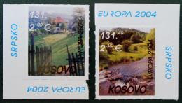 EUROPA 2004 - NEUFS ** - COINS DE FEUILLES - EMISSION KOSOVAR - Kosovo