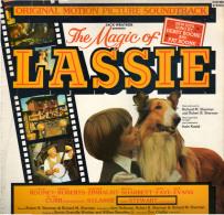 * LP *  THE MAGIC OF LASSIE (Original Soundtrack) (England 1979 EX-!!!) - Filmmuziek