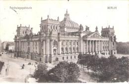 ALLEMAGNE : Berlin . Reichstagsgebäude .Vers Liège Le 20/06/1909. - Duitsland