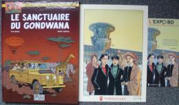 Juillard - Blake Et Mortimer - Le Sanctuaire Du Gondawa - BD EO Tirage Luxe - Livres, BD, Revues