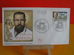 FDC- École Vétérinaire D´Alfort, Gaston Ramon 188-1963 - 94 Maisons Alfort - 27.5.1967 - 1er Jour, Cote 1,80 € - FDC