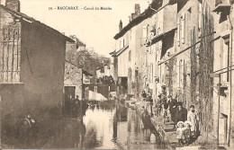 54 - BACCARAT,  CANAL DU MOULIN (ECRITE 1906) - Baccarat