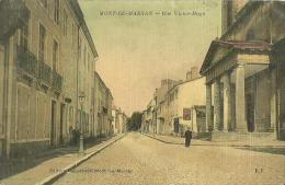 1 - CPA - MONT-DE-MARSAN - Rue Victor Hugo -  1915  -  (couleur) - - Mont De Marsan