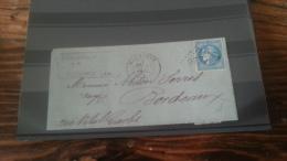 LOT 242014 TIMBRE DE FRANCE OBLITERE BORDEAUX