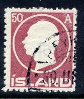 ICELAND 1912 Frederik VIII 50a. Used.   Michel 72 - Oblitérés