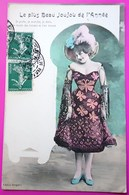 Cpa Bergeret Femme Frau Lady Le Plus Beau Joujou De L'Année - Bergeret