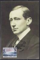 6594. Serbia And Montenegro (Yugoslavia), 2004, Guglielmo Marconi, CM - Cartoline Maximum