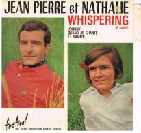 Jean-Pierre Et Nathalie (rare) Festival DM 50006 Production Roland Dorsay- Avec Vignette - Vinylplaten