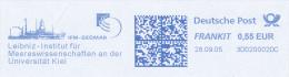 Freistempel 3877 Leibnitz Institut Für Meereswissenschaften - [7] Federal Republic