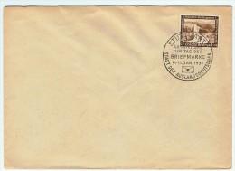 Allemagne / Journée Du Timbre 1937 /  Stuttgart - Lettres & Documents