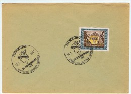 Allemagne / Journée Du Timbre 1943 / Hambourg / Hamburg - Lettres & Documents